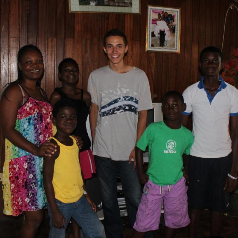 Adrian D in Ghana